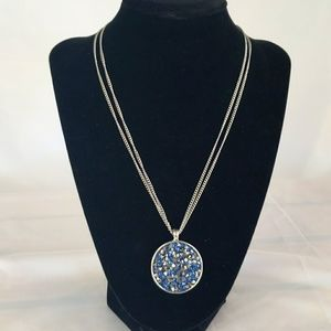 Kenneth Cole Necklace Silvertone